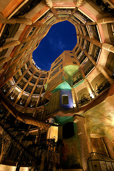 Casa Mila in Barcelona by Chongming 76