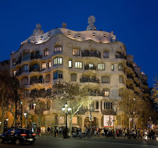 Casa Mila in Barcelona by Diliff