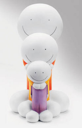 Doug Hyde Sculpture ~ Titled: Small, Medium, Large