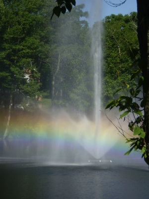 Rainbow Fountain at Ossining Park, NY
