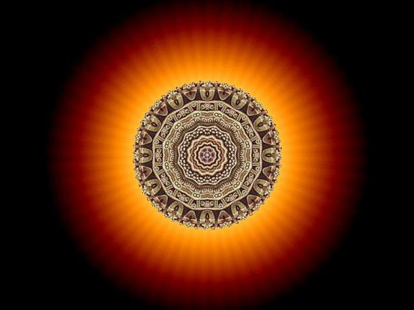 Mandala: The Glow of Grace