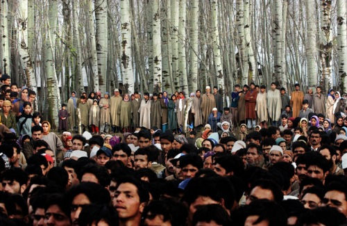 Kashmir Gathering by Ami Vitale