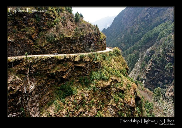 Friendship Highway - Tibet gorge