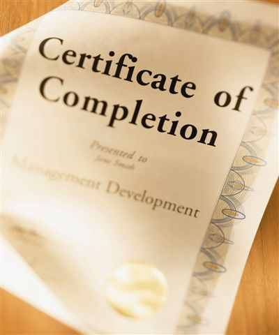 Completion is king ... in the land of Procrastination