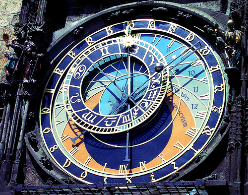 Prague - Townhall Clock: Why Do Today What You Can Put Off For Tomorrow?