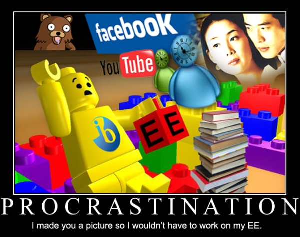 Procrastinate: And while You wait...