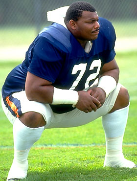 William The Refridgerator Perry of The Chicago Bears