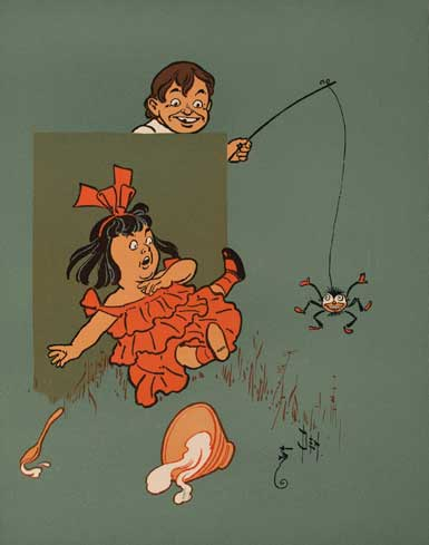 Laughter: An Antidote to the Usual... Little Ms. Muffet