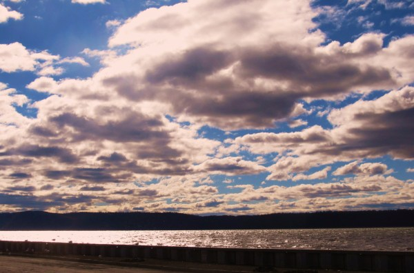 Weekly Photo Challenge: My 2012 In Pictures... Hudson River post Hurricane Sandy