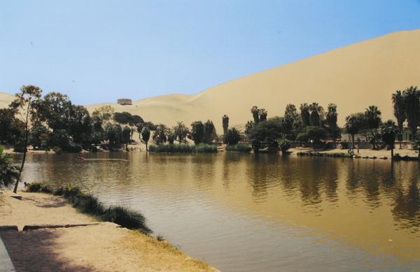 Haiku: The Oasis Inside... Working in Peru.