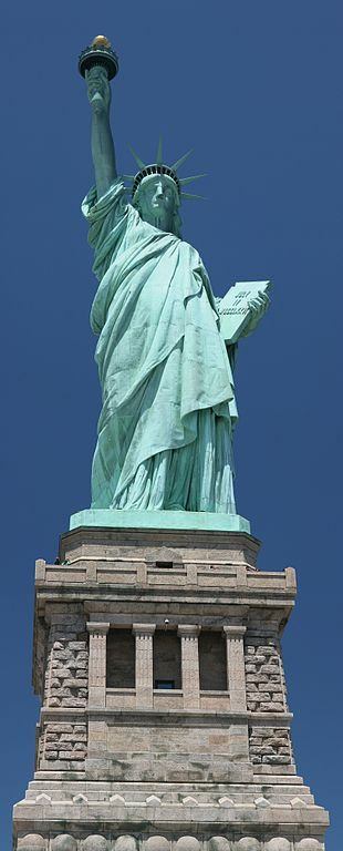 Haiku: Immortalized as Lady Liberty...