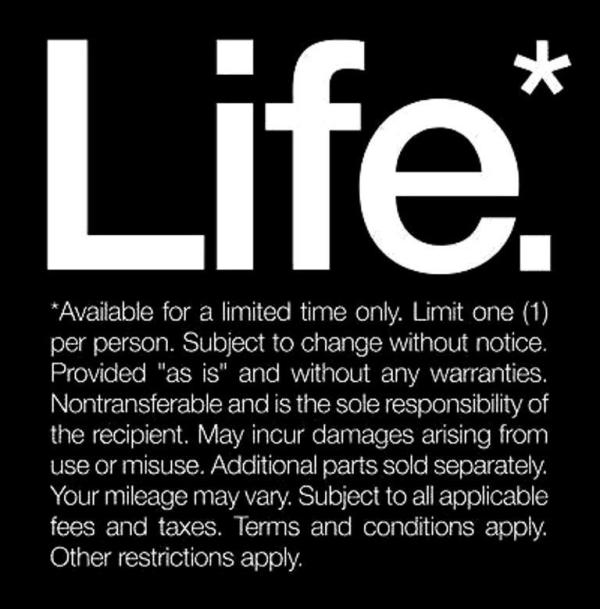 Author's Page: Life Poster.