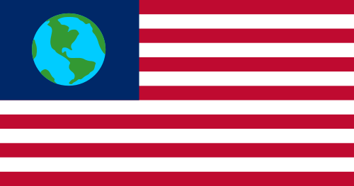 Earth Day US Flag