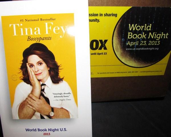 Tina Fey's BossyPantsfor World BookNight