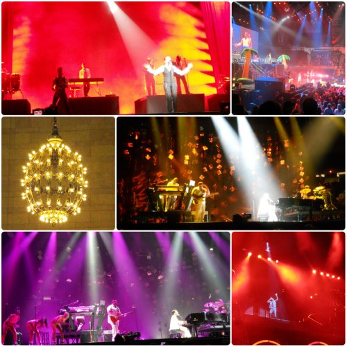 Weekly Photo Challenge: Pop Artists Concert Lights