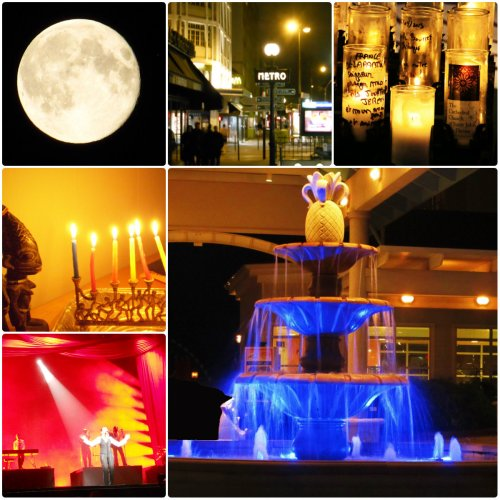 Weekly Photo Challenge: A fountain of miscellaneous displays of Light