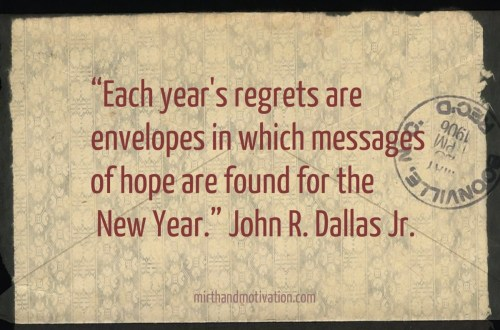Antique envelope postmarked 1906 with no regrets quote by John R Dallas, jr