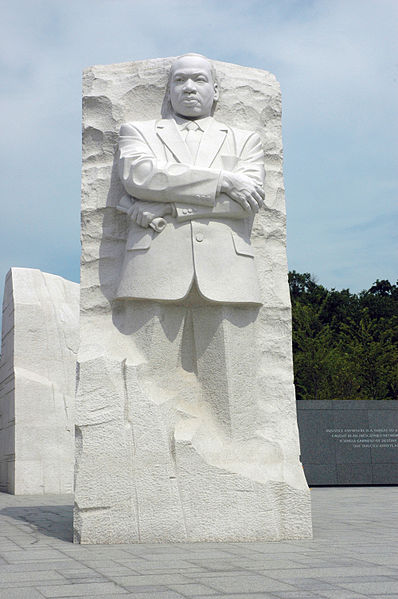 MLK Memorial Sculpture in Wash, DC