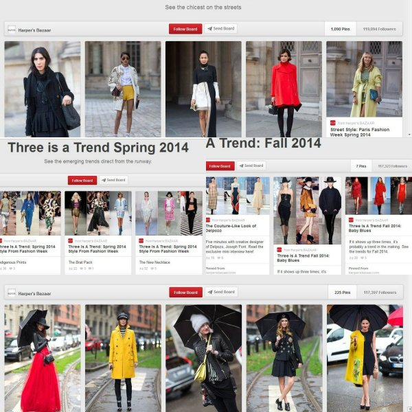 FAD: Trends Spring and Fall 2014