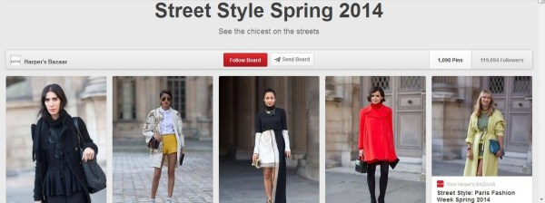 FAD: Trends Street Style in Spring  2014
