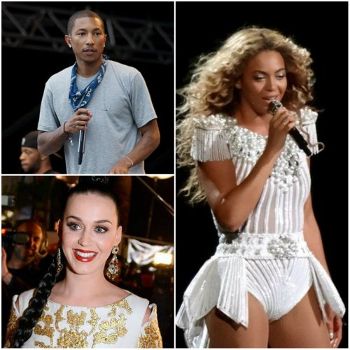 Music: Enjoy The Beat... Pharrell, Katy Perry and Beyonce