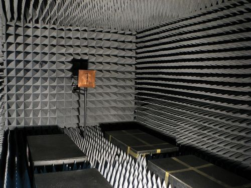 Silence - An anechoic chamber - Our Lips Are Sealed