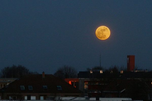 Haiku: Walking on the Supermoon