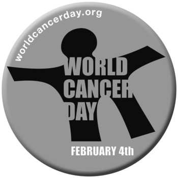 World Cancer Day 2014 Button