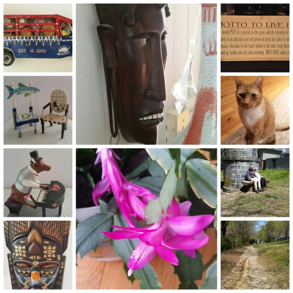 Weekly Photo Challenge: Work Of Art  ~ Joy of collages