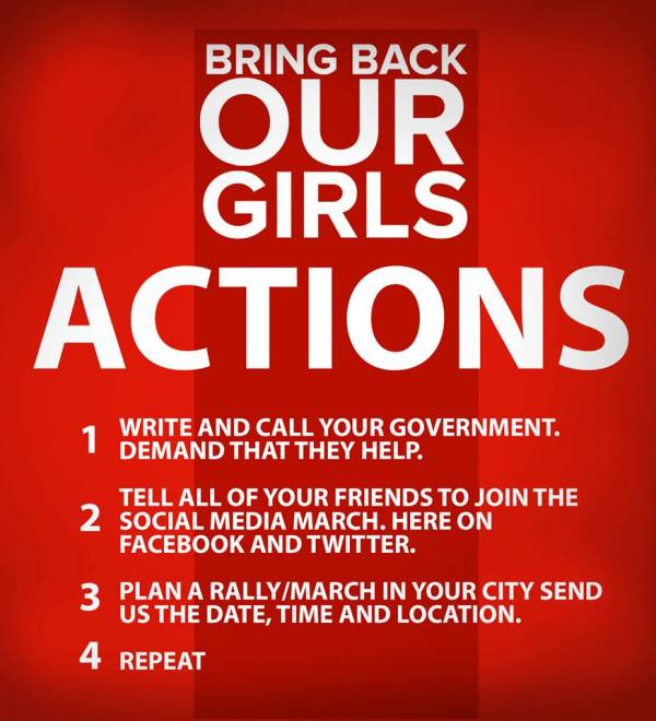 All children deserve  love... BringBackOurGirls