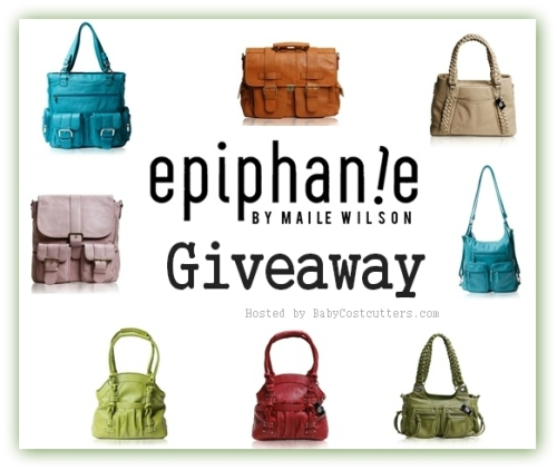 Great  Giveaway: Epiphanie Bags