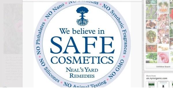 NYR Organic: Neal's Yard Remedies Safe Comestics