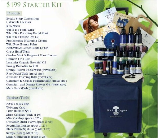 NYR Organic: Neal's Yard Remedies Fantastic Starter Kit for Consultants