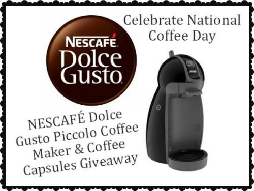 Enter To Win: NESCAFÉ® Dolce Gusto® Piccolo Coffee Giveaway!