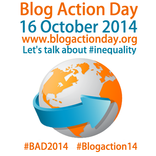 Blog Action Day: Shine A Light On Inequality