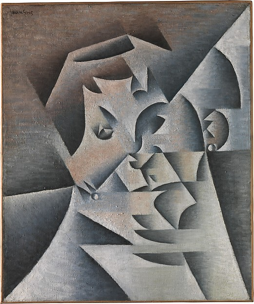 CUBISM: The Exhibition At The Met Museum - Head of a Woman (Portrait of the Artist's Mother) Juan Gris Paris, 1912