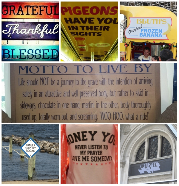 Weekly Photo Challenge: SIGNS