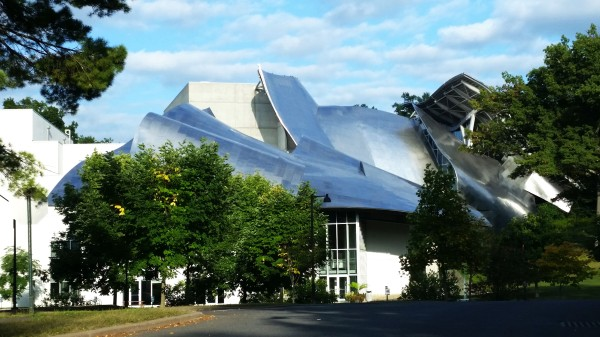 Weekly Photo Challenge: Angular - Frank Gehry–designed Richard B. Fisher Center