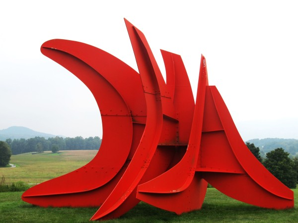Weekly Photo Challenge: Angular - Five Swords Installation by Alexander Calder at Storm King