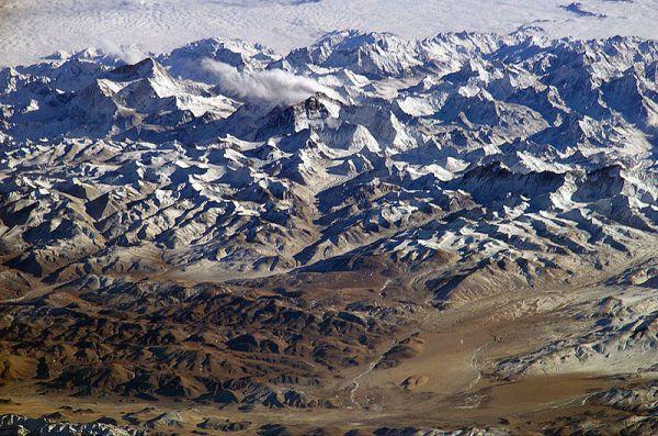 Motivation Mondays: Courage - Himalayas by NASA