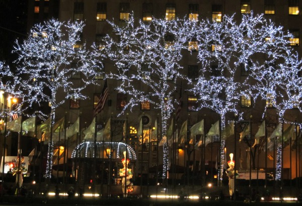 Weekly Photo Challenge:  - Rockefeller Center Lights