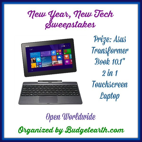 ASUS Transformer: New Year, New Tech Sweepstakes