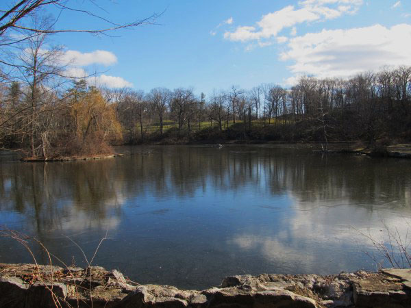 Weekly Photo Challenge: Serenity - Halsey Pond In Springtime
