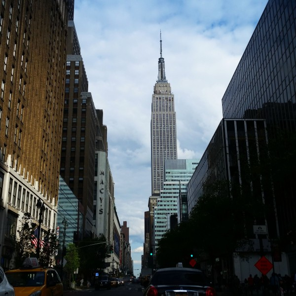 Weekly Photo Challenge: Shadowed  - Empire State Building shines overshadowing the rest.