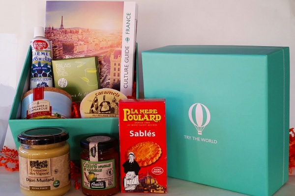 Try The World: A Taste Of Paris - This month's delectable selections