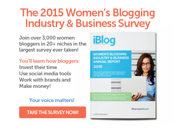 The Women's Blogging Industry & Business  Survey - for Facebook