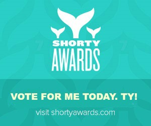 TWEET YOUR VOTE TODAY! http://shortyawards.com/ElizObihFrank