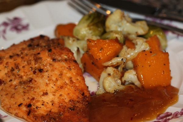 Food Files: Salmon w/ Pineapple Coconut Mango Tequila Sauce