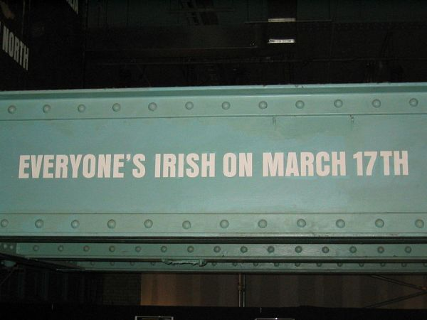 St Patrick's Day: Top 20 Things You Should Know - Pub sign