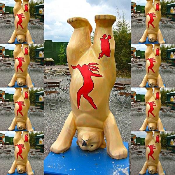 Perspective: The Happy Wanderer in Haiku - Berlin Bear